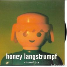 Discos de vinilo: HONEY LANGSTRUMPF - STONED JOY + COMMITED SINGLE SPAIN 1995. Lote 254641465