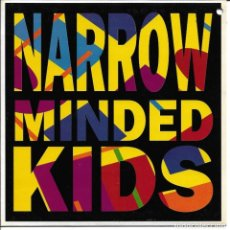 Discos de vinilo: LOS VALENDAS - NARROW MINDED KIDS + SHE'S LEAVING HOME SINGLE SPAIN 1993. Lote 254641570
