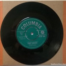 Discos de vinilo: GEORGE MELLY AND BILL BRAMWELL. MONKEY AND THE BABOON. COLUMBIA, UK 1961 SINGLE. Lote 254642125