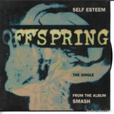 Discos de vinilo: OFFSPRING - SELF ESTEEM + BURN IT UP + JENNIFER LOST THE WAR SINGLE RARO DOBLE PORTADA 1994 SPAIN. Lote 254642695