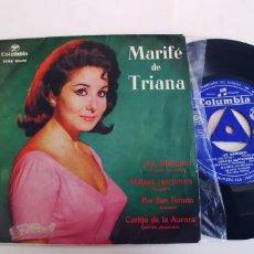 Discos de vinilo: MARIFE DE TRIANA-EP AY MARICRUZ +3. Lote 254643390