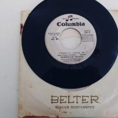 Discos de vinilo: MARIFE DE TRIANA-SINGLE CURRITO LUNA-SIN FUNDA. Lote 254643550