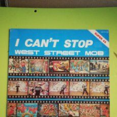 Discos de vinilo: I CAN'T STOP WEST STREETS MOB. Lote 254679060