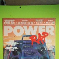 Discos de vinilo: LP POWER RAP. Lote 254680680