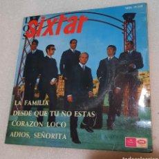 Discos de vinilo: LOS SIXTAR - LA FAMILIA + 3. Lote 254682550