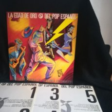 Discos de vinilo: 3XLP DISCAZO!! VARIOUS - LA EDAD DE ORO DEL POP ESPAÑOL, MUY BUEN ESTADO. Lote 278954203