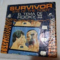 Discos de vinilo: SURVIVOR - EYE OF THE TIGER. ROCKY III BSO. Lote 254683505