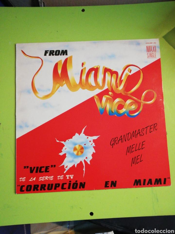 FROM MÍAMI VICE GRAND MASTER MELLE MEL (Música - Discos de Vinilo - Maxi Singles - Bandas Sonoras y Actores)
