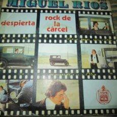 Discos de vinilo: MIGUEL RIOS - DESPIERTA / EL ROCK DE LA CARCEL SINGLE ORIGINAL ESPAÑOL - HISPAVOX 1970 - MONOAURAL. Lote 254689955