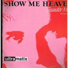 Discos de vinilo: ULTRAMATIX - SHOW ME HEAVEN - MAXI SINGLE 1990 - ED. ALEMANIA. Lote 254690815