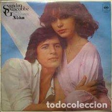 Discos de vinilo: SANDRO GIACOBBE - CANTA EN ESPAÑOL - NIÑA - LP SPAIN 1978. Lote 254690970