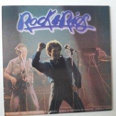 Discos de vinilo: MIGUEL RIOS- ROCK & RIOS- 2 LP 1982 + 2 ENCARTES - EXC. ESTADO.. Lote 254691115