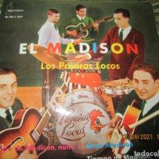 Discos de vinilo: LOS PAJAROS LOCOS - EL MADISON EP - ORIGINAL ESPAÑOL - IBEROFON RECORDS 1962 - MONOAURAL. Lote 254693595