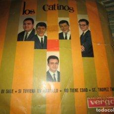 Discos de vinilo: LOS CATINOS - SAPORE DI SALE EP - ORIGINAL ESPAÑOL - VERGARA RECORDS 1964 - MONOAURAL. Lote 254694890