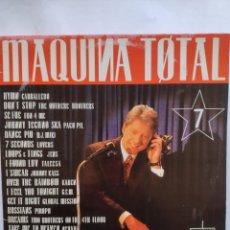 Discos de vinilo: MÁQUINA TOTAL 7 -MAX MUSIC 1994 - DOBLE LP. Lote 254702735