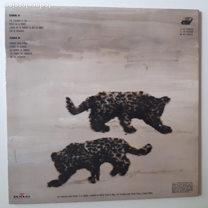 Discos de vinilo: JOAQUIN SABINA- EL HOMBRE DEL TRAJE GRIS - LP 1988 + ENCARTE - EXC. ESTADO. - Foto 3 - 254705555