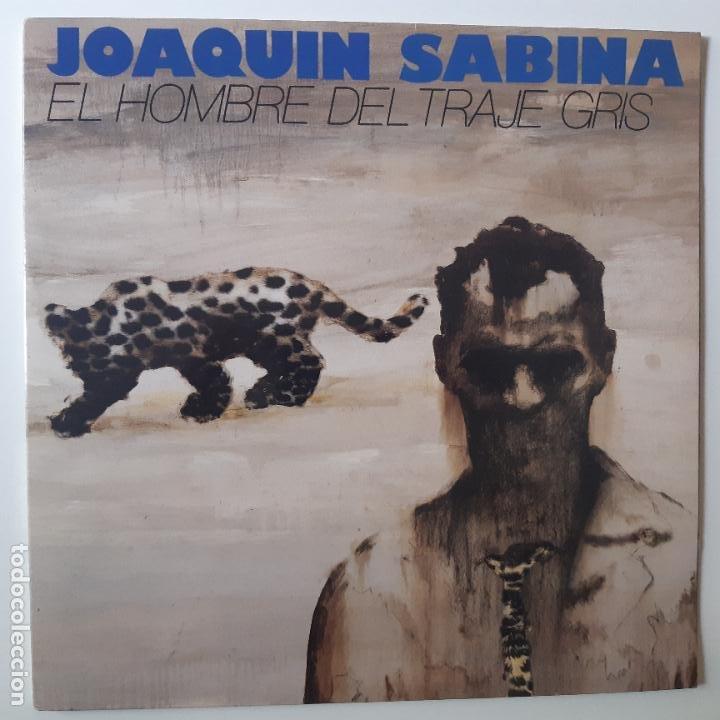 JOAQUIN SABINA- EL HOMBRE DEL TRAJE GRIS - LP 1988 + ENCARTE - EXC. ESTADO. (Música - Discos - LP Vinilo - Solistas Españoles de los 70 a la actualidad)