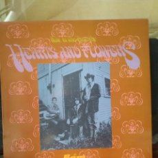Discos de vinilo: HEARTS AND FLOWERS 1967 REED. BAM CARUSO RECORDS 1987. Lote 254706575