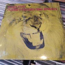 Discos de vinilo: PUCHO & THE LATIN SOUL BROTHERS–JUNGLE FIRE. LP VINILO PRECINTADO. LATIN - JAZZ - FUNK. Lote 254707450