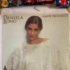 Discos de vinilo: DANIELA ROMO-AMOR PROHIBIDO-1984-EXCELENTE ESTADO. Lote 254711345