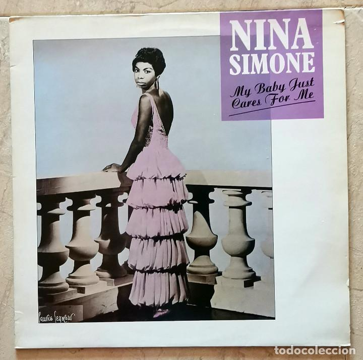 NINA SIMONE – MY BABY JUST CARES FOR ME UK 1987 (Música - Discos de Vinilo - Maxi Singles - Jazz, Jazz-Rock, Blues y R&B)