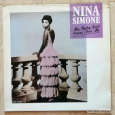 Discos de vinilo: NINA SIMONE – MY BABY JUST CARES FOR ME UK 1987. Lote 254720245