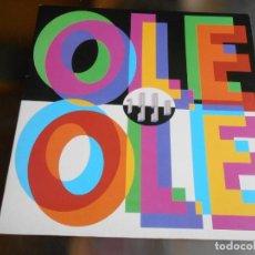 Discos de vinilo: OLE OLE - 1990 -, LP, SOLDADOS DEL AMOR + 8, AÑO 1990. Lote 254726175