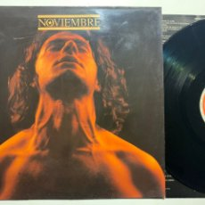 Discos de vinilo: LP NOVIEMBRE EDICIÓN ESPAÑOLA DE 1990. Lote 254727010