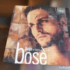 Disques de vinyle: MIGUEL BOSÉ - BAJO EL SIGNO DE CAÍN -, LP, TE COMERÍA EL CORAZÓN + 11, AÑO 1993. Lote 254728130