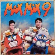 Discos de vinilo: MAX MIX 9 , PARTIALLY MIXED SPAIN 1989 FALTA DISCO 1. Lote 254729350