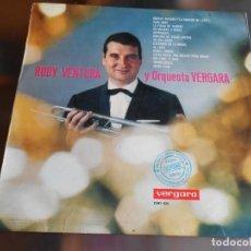 Discos de vinilo: RUDY VENTURA Y ORQUESTA VERGARA, LP, DOCTOR ZHIVAGO (LA CANCION DE LARA) + 13, AÑO 1966. Lote 254730555