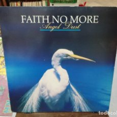 Discos de vinilo: FAITH NO MORE - ANGEL DUST - LP. SELLO LONDON RECORDING 1992. Lote 254730680