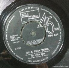 Discos de vinilo: THE FOUR TOPS - MAME / WALK AWAY RENEE - SINGL UK 1966 - MOTOWN. Lote 254731315