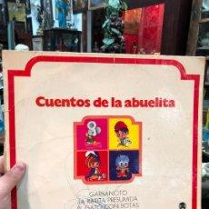 Discos de vinilo: LP CUENTOS DE LA ABUELITA. Lote 254731365