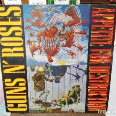 Discos de vinilo: GUNS N´ROSES - APPETITE FOR DESTRUCTION - LP. SELLO GEFFEN RECORDS 1987. Lote 254731745