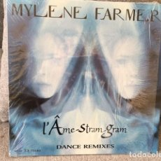 Discos de vinilo: MYLENE FARMER . L´AME STRAM GRAM . EDICIÓN FRANCESA DE 1999. Lote 254731805