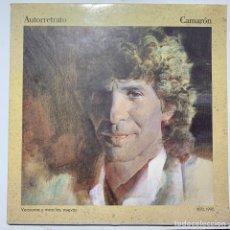 Discos de vinilo: DOBLE LP GATEFOLD CAMARON AUTORRETRATO EDICIÓN ESPAÑOLA DE 1990. Lote 254731830
