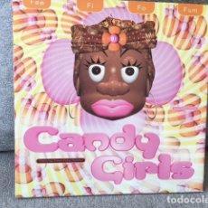 Discos de vinilo: CANDY GIRLS . FEE FI FO FUM . EDICIÓN INGLESA DE 1995. Lote 254732295