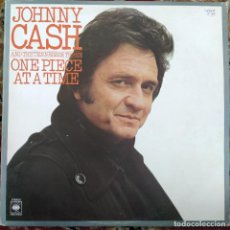 Discos de vinilo: JOHNNY CASH AND THE TENNESSEE THREE - ONE PIECE AT A TIME (LP, ALBUM) (UK). Lote 254735440