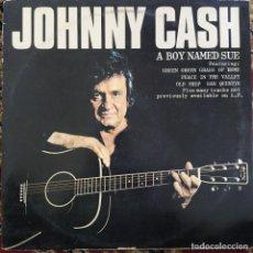 Discos de vinilo: JOHNNY CASH - A BOY NAMED SUE (LP, ALBUM) (1980/UK). Lote 254736510