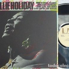 Discos de vinilo: BILLIE HOLIDAY - LADY LOVE 72, LIVE IN BASEL, SWITZERLAND 1954, RARE REEDIC USA UNITED ARTISTS, EXC. Lote 254739655