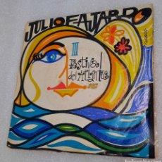 Discos de vinilo: JULIO FAJARDO - CAMINO DE SURCOS + 3. III FESTIVAL DEL ATLÁNTICO. Lote 254739735