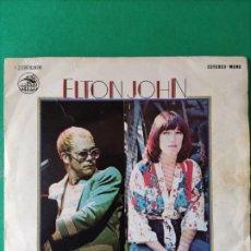 Discos de vinilo: VINILO.ELTON JOHN. KIKI DEE. DONT GO BREAKING MY HEART. NO SE HA PROBADO.. Lote 254744475