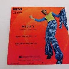 Discos de vinilo: MICKY-SINGLE VIVA EL ROCK AND ROLL. Lote 254745130
