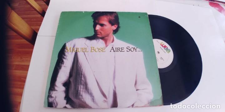 MIGUEL BOSE-MAXI AIRE SOY (Música - Discos de Vinilo - Maxi Singles - Solistas Españoles de los 70 a la actualidad)
