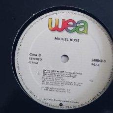 Discos de vinilo: MIGUEL BOSE-MAXI YOU LIVE IN ME. Lote 254745945