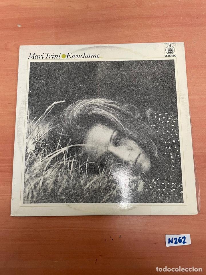 MARI TRINI - ESCUCHAME (Música - Discos - LP Vinilo - Flamenco, Canción española y Cuplé)