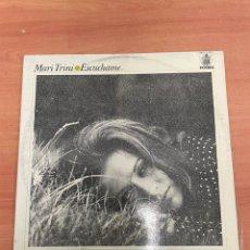 Discos de vinilo: MARI TRINI - ESCUCHAME. Lote 254745960