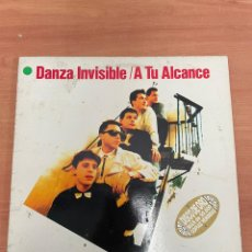 Discos de vinilo: DANZA INVISIBLE A TU ALCANCE. Lote 254746120
