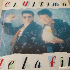 Discos de vinilo: EL ULTIMO DE LA FILA-NUEVO PEQUEÑO CATALOGO DE SERES Y ESTARES- LP 1990 + ENCARTE PRIMERA EDICION. Lote 254750835